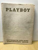 VINTAGE PLAYBOY MAGAZINE JANUARY 1969 ISSUE