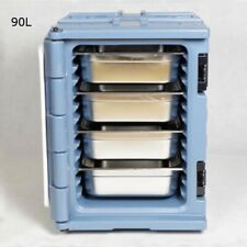 Techtongda 90l Outdoor Food Carrier Insulation Cabinet Warmer With 4 Pan