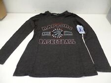 Majestic Threads Women's Raptors V-neck Long Sleeve Hoodie/Shirt - Small - NWT