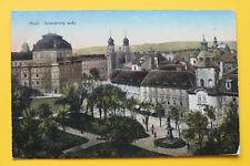 Tschechien CZ AK Pilsen 1910-20 Plzeň Smetanovy sady Ort Häuser Gebäude Straße +
