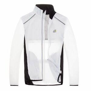 Waterproof Cycling Jackets Breathable Reflective Long Sleeve Outdoor Rain Wear