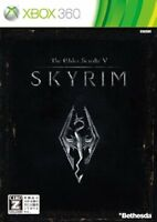 xbox360 The Elder Scrolls V Skyrim Japan Import Japanese Xbox 360 Game