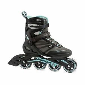 Rollerblade Zetrablade Black/light blue women inline skates