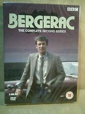 Bergerac - The Complete Second Series - 3 Discs - UK DVD - New/Sealed