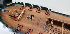 Revell USS Constitution 1:96 - 24pcs laser-cut guns carriage for Brass carronade