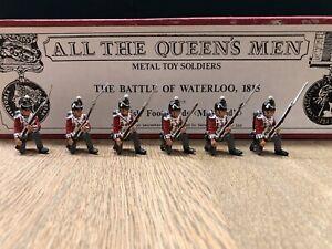All The Queens Men: Boxed Set British Foot Guards @ Waterloo. 54mm Metal Models