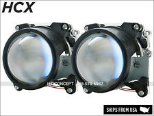 "H4 Mini Bi-xenon HID Xenon Retrofit Projectors Lenses (2.5"") Headlight Retrofit"