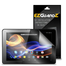 2X EZguardz LCD Screen Protector Cover HD 2X For GoClever Insignia 1010M Tablet