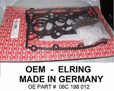2002-05 AUDI A4, A6 3.0 Cylinder Head Gasket Set, AUDI 3.0 ; OEM ELRING GERMANY