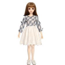 """New  1/4 Handmade Resin BJD MSD Lifelike Doll Joint Dolls Girl Gift Tania 17"""""""