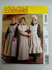 PIONEER HISTORICAL COSTUMES - McCall's Pattern 9423 - Woman's Sz 8 - 10