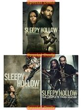 New Sleepy Hollow The Complete DVD TV Series Seasons 1 2 & 3 Sealed In Stock 1-3
