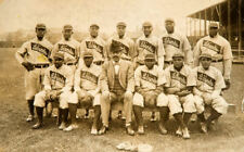1909 LELAND GIANTS 8X10 TEAM PHOTO BASEBALL PICTURE NEGRO LEAGUE
