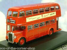 Oxford Diecast 1/76 Leyland Titan Pd2/12 Midland Rouge Rt625 Loughborough
