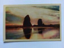 Oregon Vintage colour Postcard c1950 Rocky Sentinels
