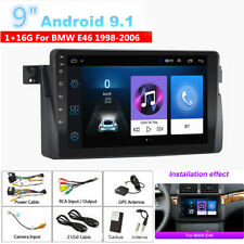 For BMW E46 M3 Rover 75 MG ZT 9'' Android 9.1 1+16GB Car Stereo Radio GPS WIFI