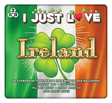 I Just Love - Ireland - 60 Greatest Irish Songs - 3 CD SET - BRAND NEW SEALED