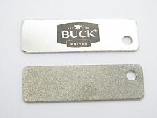"BUCK KNIVES KEY CHAIN TOOL DIAMOND SHARPENING STONE STEEL 2.5"" long"