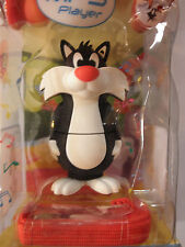 NEW! EMTEC Looney Tunes Sylvester 8GB MP3 Player USB Flashdrive with Speaker