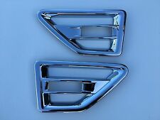 LAND ROVER FREELANDER 2 CHROME ABS SIDE VENT TRIM,2008-15.