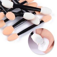 Nail Art Sponge Double-sided Powder Puff Brush Eyeshadow Stick Makeup