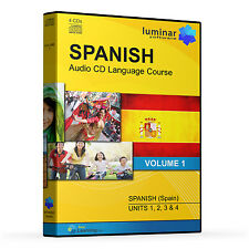 Learn By Listening - Beginners Spanish Language Course on 4 Audio CDs (Volume 1)