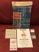Vintage Las Vegas Lot Assorted Hotel & Casino Memorabilia