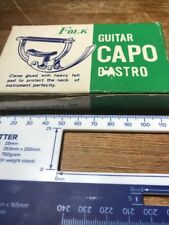 Folk Vintage Guitar Capo D'Astro Made In Japan
