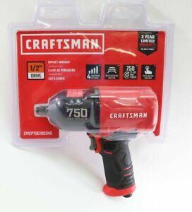 "Brand New Craftsman 1/2"" Drive Air Impact Wrench 750 Max Ft/Lbs CMXPTSG1003NB"