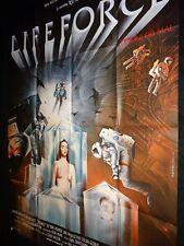 LIFEFORCE ! affiche cinema vampire
