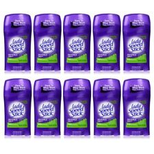 Lady Speed Stick Invisible Dry Deodorant 1.4oz Powder Fresh(Pack of 10)Exp 06/18