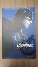 Hot Toys MMS 174 The Avengers Captain America Steve Rogers Chris Evans NEW