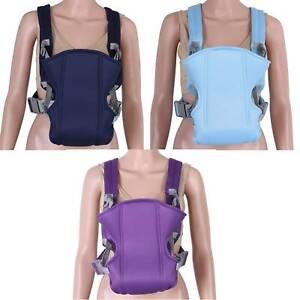 Adjustable Infant Baby Carrier Wrap Sling Newborn Backpack Breathable Bag