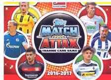 Match Attax 2016/17 Bundesliga aus Liste 20 Basis + Sonderkarten aussuchen