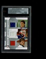 11/12 ITG Ultimate Memorabilia 11th Ed Goalie Generations Beezer/Fuhr/Hextall