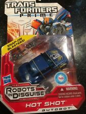 Transformers Prime HOT SHOT Robots in Disguise RID 2012 Deluxe Class Figure