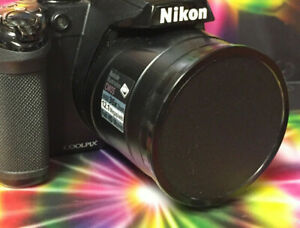 Perfect Fit LENS CAP to CAMERA NIKON COOLPIX P520 P 520 +HOLDER,SLIP-ON byKaiser