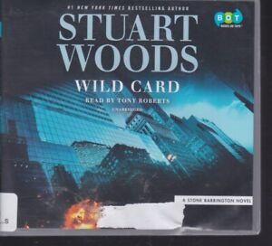 WILD CARD by STUART WOODS ~UNABRIDGED CD AUDIOBOOK