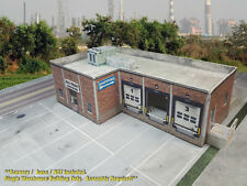 N Scale Building - Cross Dock / Warehouse -  PRE-CUT Cardstock (PAPER) Kit CDN2