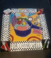"6 x 6 Hand-Made ""Irene's Tiles"" The Best Recipe For Living, Good Friends"