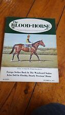 THE BLOOD- HORSE AMERICAN BLOODSTOCK MAGAZINE OF THE 1970's