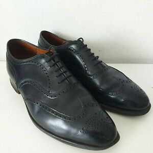 Church's Henley Black Leather Brogue Style Mens Shoes - Size 12 D/E