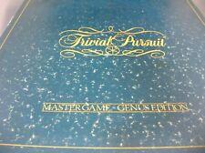 "Vintage Original Horn Abbot Trivia Pursuit ""Mastergame -Genus Edition"" Game"
