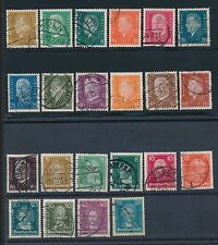 1926 - 1930 Germany (22) ISSUES; ALL USED; NO FAULTS; AS SHOWN; CV $35
