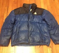The North Face Nuptse 700 Goose Down Puffer Puffy Jacket Coat blue XL Vintage