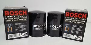 2 New Bosch Engine Oil Filter Fits Dodge Datsun Ford Toyota + More 72102