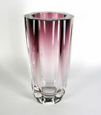 Designer Glas Vase 60er / 70er Jahre Design Murano? Glass Vase ca. 21,3cm