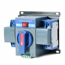 Dual Power Automatic Transfer Switches Switch For Generator 220V 63A 2P 50/60HZ