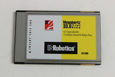 Us Robotics Cc1336 Megahertz 33.6 Pc Card Modem 33.6 Data/14.4 Fax