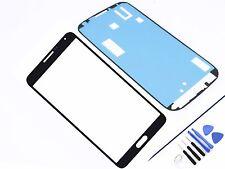 Cristal Delantero para Samsung Galaxy Note 3 Negro Cristal Pantalla Táctil